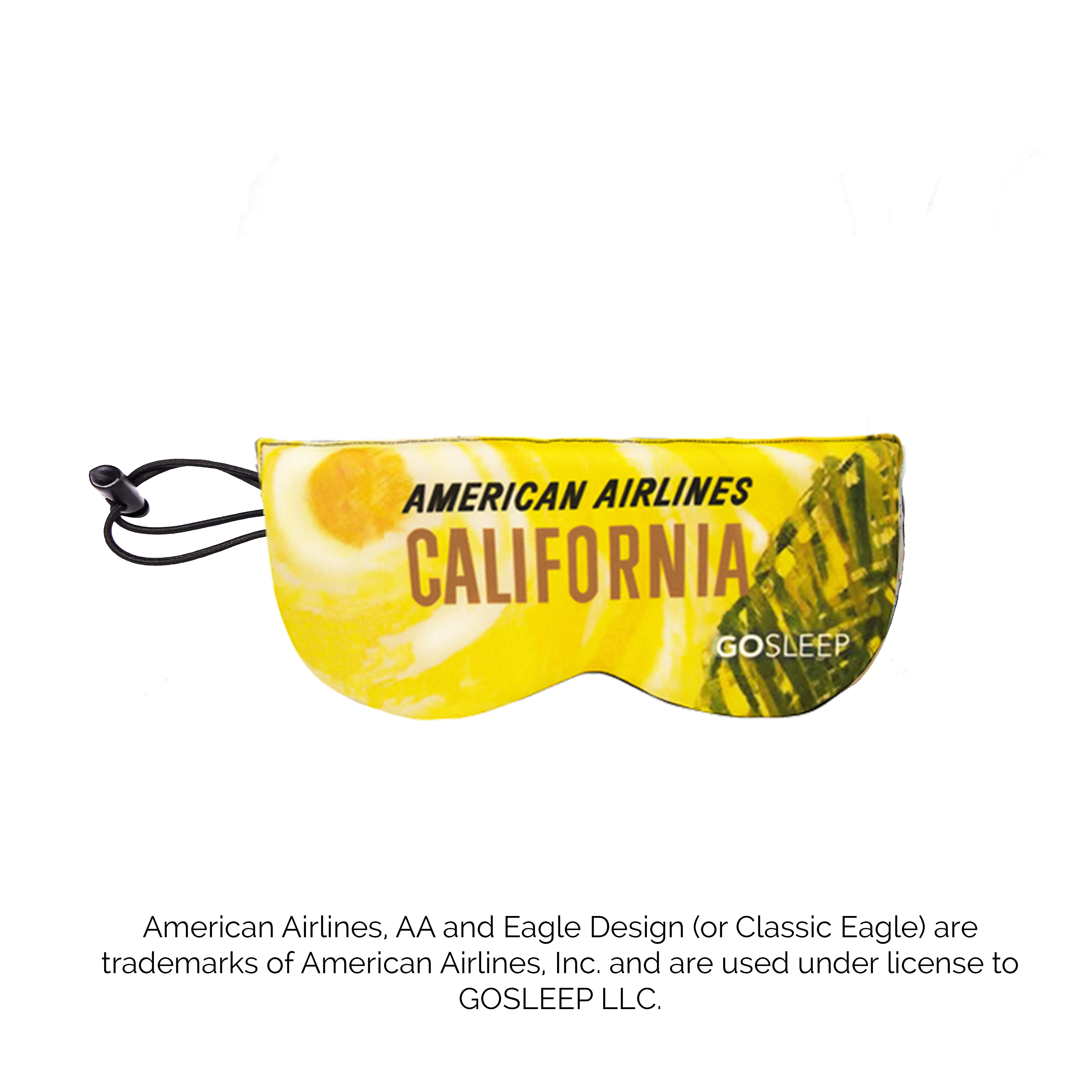 Vintage California American Airlines GoSleep® Replacement Mask